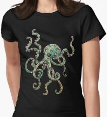 Octopus Women's Fitted T-Shirt