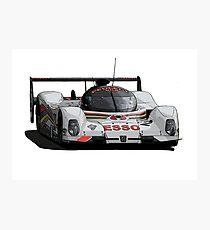 Le Mans Peugeot 905 Photographic Print