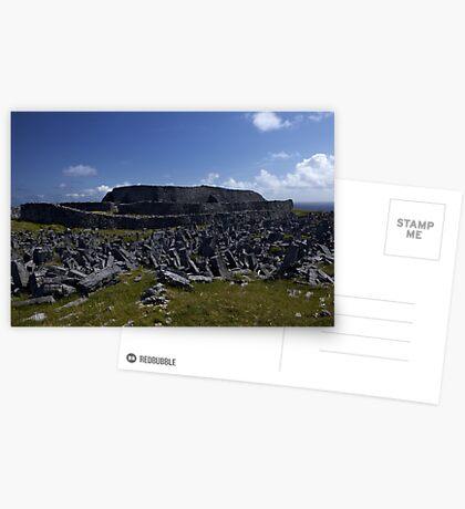 Dun  Aengus Fort, Inishmore, Aran Islands   Greeting Card