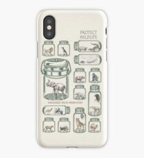 Protect Wildlife - Endangered Species Preservation  iPhone Case