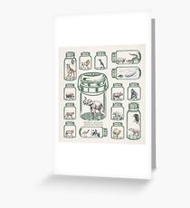 Protect Wildlife - Endangered Species Preservation  Greeting Card
