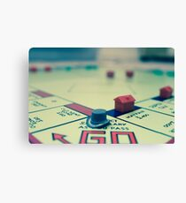 A Game of Monopoly Canvas Print