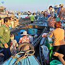 Floating Market Fleet by V1mage