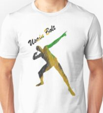 Usain Bolt Cool Jamaican Design Unisex T-Shirt
