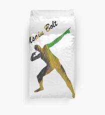 Usain Bolt Cool Jamaican Design Duvet Cover
