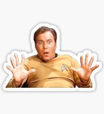 William Shatner - Jim Kirk Sticker