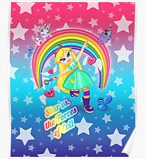 Star vs. the Forces of Lisa Frank Poster