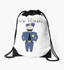 Sikh New Yorker Drawstring Bag