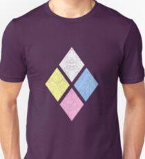 Camiseta unisex Diamante Autoridad Insignia