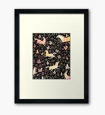 Marshmallow ponies Framed Print