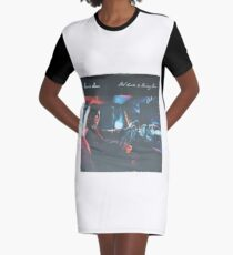 Bear's Den - Red clay and Pouring rain - Vinyl sleeve Graphic T-Shirt Dress