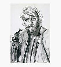 David Boyd (Black Pastel) Photographic Print