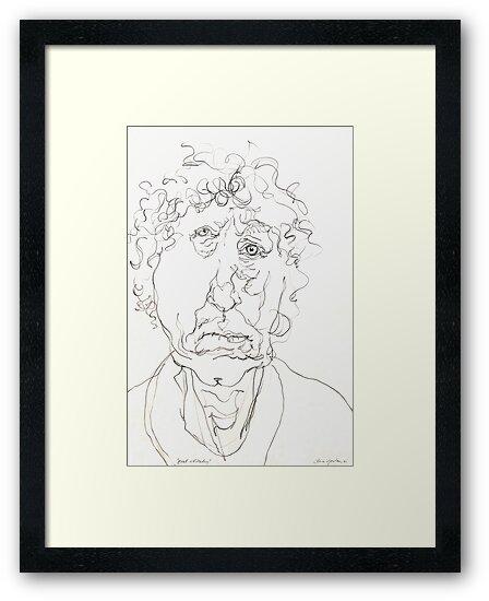 Brett Whiteley Sketch by Stephen Gorton