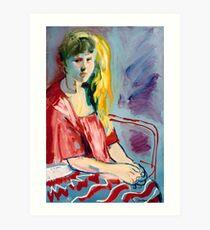 Rene Art Print