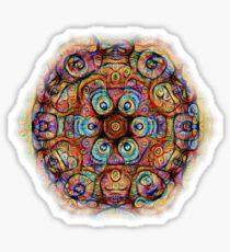 #DeepDreamed Amulet Sticker