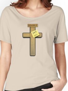 Jesus: brb ... lol! Women's Relaxed Fit T-Shirt