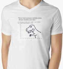 Datasaurus: Never trust summary statistics alone. Always visualize your data T-Shirt