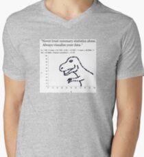 Datasaurus: Never trust summary statistics alone. Always visualize your data T-Shirt