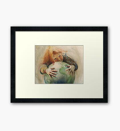 Peace 1984 Framed Print