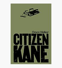 Orson Well's Citizen Kane  Photographic Print