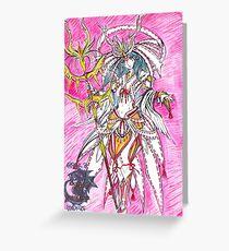 Voltana - amatsumagatsuchi armour Greeting Card