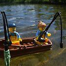 On the Boat by Shauna  Kosoris