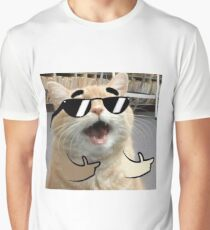 Cool Cat on it Graphic T-Shirt