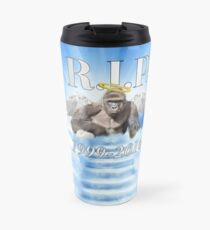 RIP Harambe Travel Mug