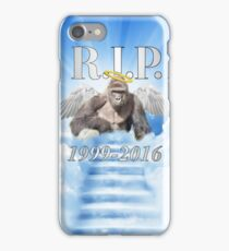RIP Harambe iPhone Case/Skin
