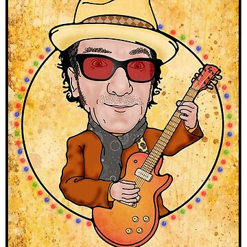elvis costello by javajohnart