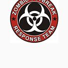 Zombie Outbreak Response Team Version 3 by thatstickerguy