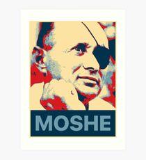 Moshe Dayan Art Print
