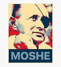 Moshe Dayan Photographic Print