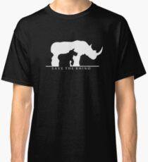 Save The Rhino Classic T-Shirt