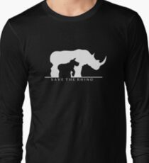 Save The Rhino Long Sleeve T-Shirt