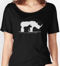 Save The Rhino Women's Relaxed Fit T-Shirt