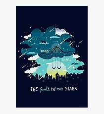 Stars and Constellations Photographic Print