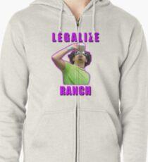 Legalize Ranch Version 1 Hoodie mit Reißverschluss