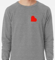 Heart Lightweight Sweatshirt