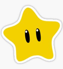 Power Star Sticker