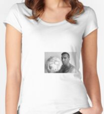 Man Of The World Women's Fitted Scoop T-Shirt