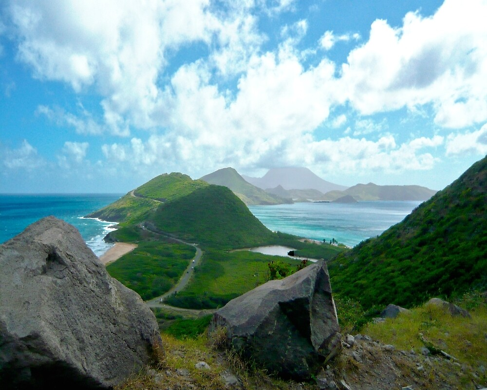 DIVIDER - ST KITTS BETWEEN THE ATLANTIC AND THE CARIBBEAN  by Thomas Barker-Detwiler