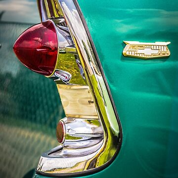 1956 Chevy tail light art by thatstickerguy