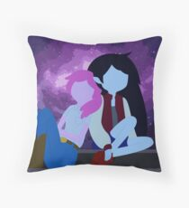 Bubbline Night Sky Throw Pillow