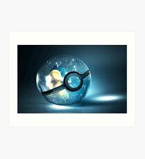 Pokemon Cyndaquil Art Print