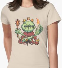 Frog King Women's Fitted T-Shirt