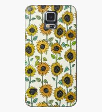 Painted Sunflowers Case/Skin for Samsung Galaxy