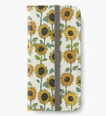 Painted Sunflowers iPhone Wallet/Case/Skin