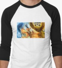 Pokemon Legendary Birds Men's Baseball ¾ T-Shirt