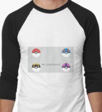 Pokemon Balls Men's Baseball ¾ T-Shirt